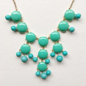J.Crew Bubble Necklace in Turquoise *AUTHENTIC*